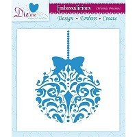 **50% OFF** 6in x 6in Embossalicious™ Embossing Folder by Crafter's Companion™ - Christmas Ornament