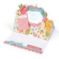 Sizzix™ Bigz XL Die - Card, Fancy Label Stand-Ups (Movers & Shapers Base)