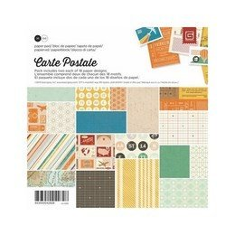 "Basic Grey® 6"" x 6"" Paper Pad - Carte Postale"