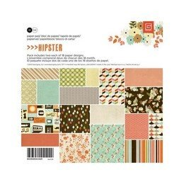"Basic Grey® 6"" x 6"" Paper Pad - Hipster"