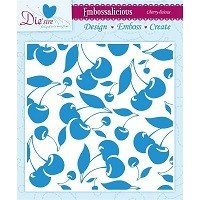**50% OFF** 6in x 6in Embossalicious™ Embossing Folder by Crafter's Companion™ - Cherry-Licious