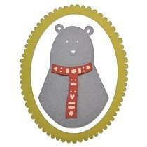 Sizzix Thinlits Die Set 3PK - Loving Bear by Craft Asylum