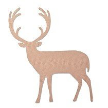 Sizzix Thinlits Die - Proud Deer by Craft Asylum