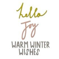 Sizzix Thinlits Die Set 3PK - Winter Wishes by Craft Asylum