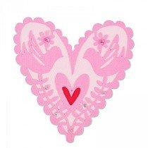 Sizzix® Thinlits™ Die - From My Heart by Emily Atherton™