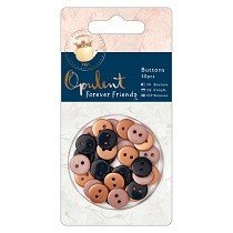 DoCrafts® Opulent Forever Friends™ Collection - Mini Buttons (30 pcs)