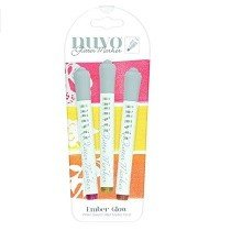 Tonic Studios® Nuvo Glitter Markers - Ember Glow (3 pk)