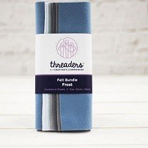 Threaders™ Felt Bundle (6 pk) - Frost