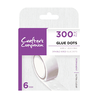 Crafter's Companion Glue Dots - 6mm (300pc)