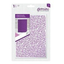 Crafter's Companion™ Gemini™ 5 x 7 Embossing Folder - Brocade