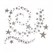 Sizzix Thinlits Die Set 9PK - Swirling Stars by Tim Holtz®