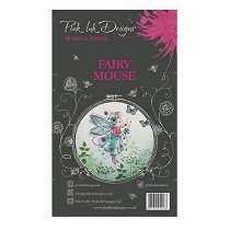 Pink Ink Designs® A6 Clear Stamp Set - Fairy Mouse