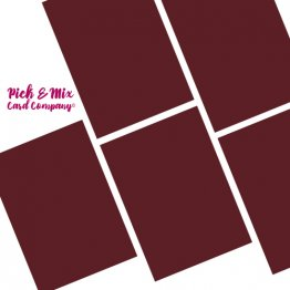 Pick & Mix Card Company© A4 (5pk) - Aniseed Ball Red
