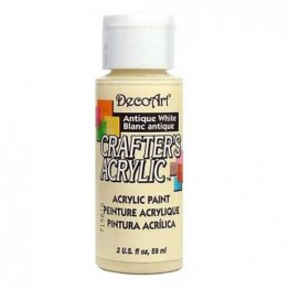 DecoArt® Crafter's Acrylic Paint (59ml) - Antique White