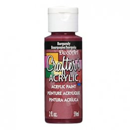 DecoArt® Crafter's Acrylic Paint (59ml) - Burgundy