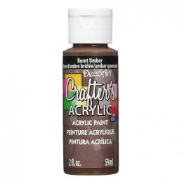 DecoArt® Crafter's Acrylic Paint (59ml) - Burnt Umber