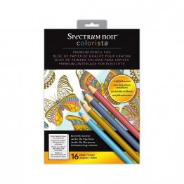 Spectrum Noir™ Colorista™ 5 x 7 Pencil Pad - Butterfly Garden