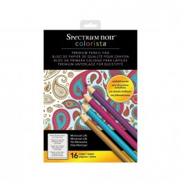 Spectrum Noir™ Colorista™A4 Pencil Pad - Moroccan Life