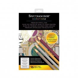 Spectrum Noir™ Colorista™A4 Pencil Pad - Victorian Steampunk