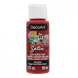 DecoArt® Crafter's Acrylic Paint (59ml) - Deep Red