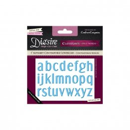 Die'sire™ Classiques, Only Words - Alphabet, Contemporary - 1 inch Lowercase