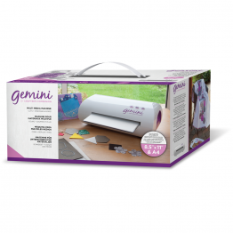 Crafters Companion® Gemini Die Cutting and Embossing Machine with Accessories, Dies & Folders