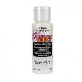 DecoArt® Glamour Dust Ultra Fine Glitter Paint (59ml) - Ice Crystal
