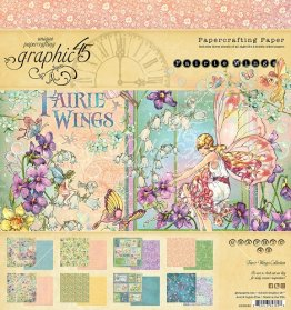 Graphic 45 - Fairie Wings 8 x 8 Double-sided Paper Pad