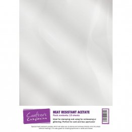 Crafter's Companion® - Heat Resistant Acetate 12 Sheets