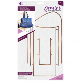 Gemini™ Bag Making Die Set - Carpet Bag