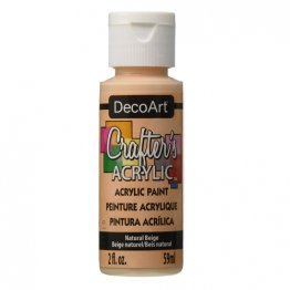 DecoArt® Crafter's Acrylic Paint (59ml) - Natural Beige