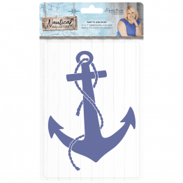"Crafter's Companion® Signature Collection, Nautical by Sara Davies - 5"" x 7"" Embossing Folder, Ships Anchor"