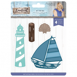 Crafter's Companion® Signature Collection, Nautical by Sara Davies - Metal Die, By the Sea