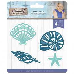 Crafter's Companion® Signature Collection, Nautical by Sara Davies - Metal Die, Fancy Shells