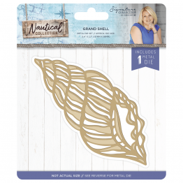 Crafter's Companion® Signature Collection, Nautical by Sara Davies - Metal Die, Grand Shell