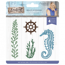 Crafter's Companion® Signature Collection, Nautical by Sara Davies - Metal Die, Sealife Accessories