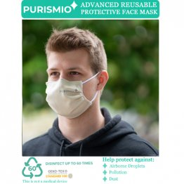 Purismio◊ Advanced Reusable Protective Face Mask - Oatmeal