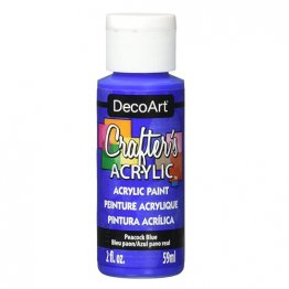 DecoArt® Crafter's Acrylic Paint (59ml) - Peacock Blue