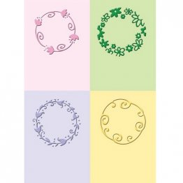 Cuttlebug® Embossing Folder Mini Set - Playful Circles