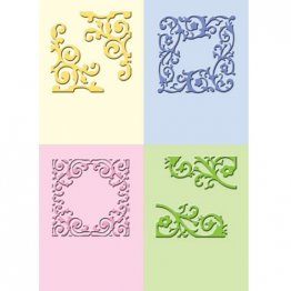 Cuttlebug® Embossing Folder Mini Set - Formal Squares