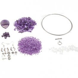 Knorr Prandell® Trend Line Jewellery Kit - Purple Moon