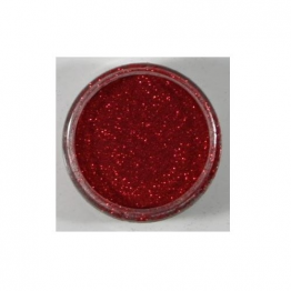 Cosmic Shimmer® Polished Silk Glitter 10ml - Fire Red (904730)