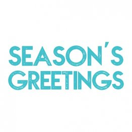 Simply Creative® Clear Stamp - Season's Greetings