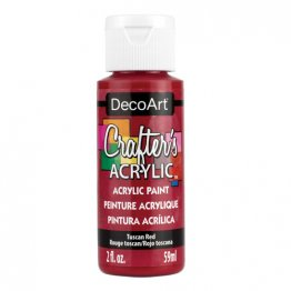 DecoArt® Crafter's Acrylic Paint (59ml) - Tuscan Red