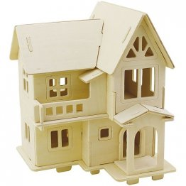 Creativ Company® 3D Wooden Construction Kit - Victorian House
