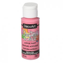 DecoArt® Crafter's Acrylic Paint (59ml) - Wild Rose Pink