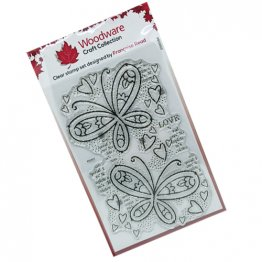 NEW PRODUCT LIMITED OFFER PRICE - Woodware® Craft Collection - Butterfly Confetti by Francoise Read