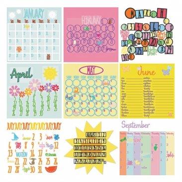 Cricut® Cartridge - Designer's Calendar