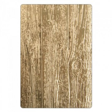 Sizzix® 3-D Texture Fades™ Embossing Folder - Lumber by Tim Holtz®