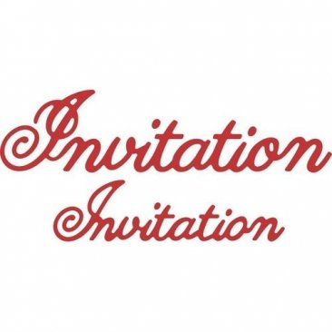 Cheery Lynn Designs® Die - Invitation